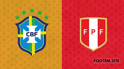 Brazil vs Peru cop america