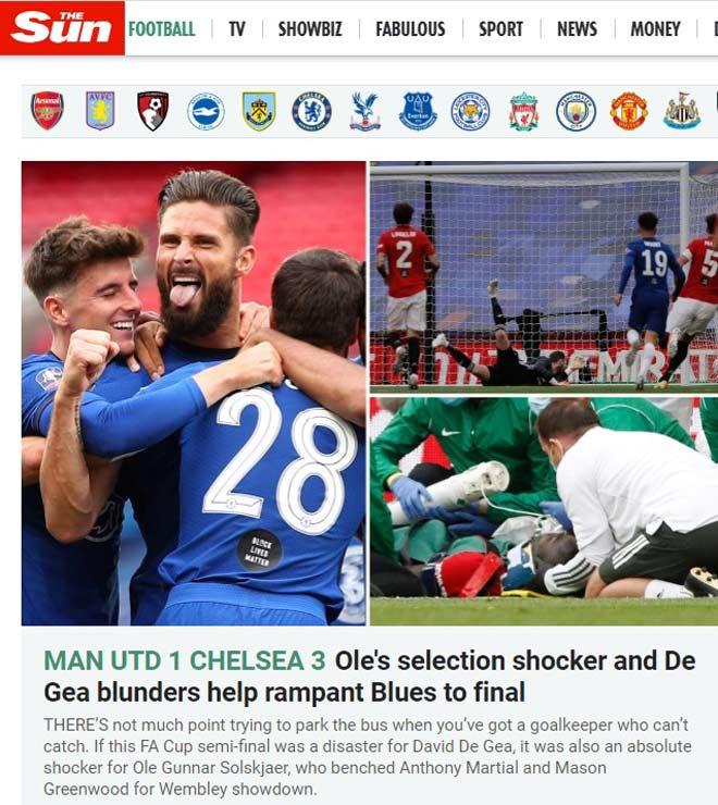 MU thua thảm Chelsea: Báo Anh chỉ trích Solskjaer vì điều gì? 2