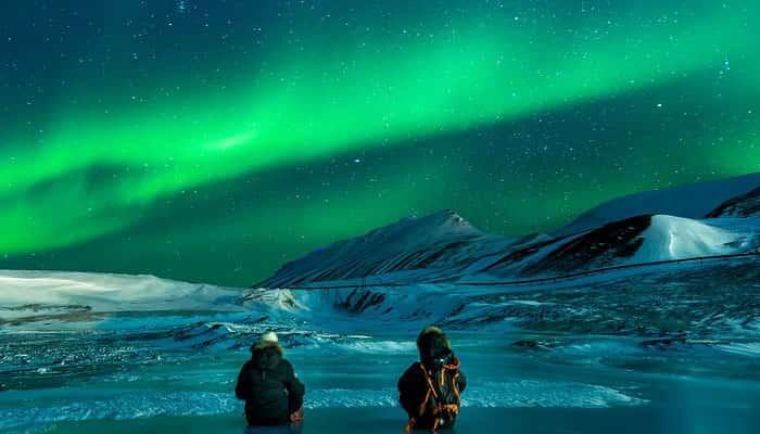 Aurora di Kutub Utara