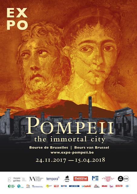 'Pompeii, the immortal city' at the Bourse de Bruxelles