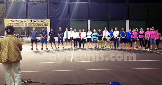 Kalahkan Ganda Tuan Rumah, Sukimin/Alfiansyah Juara KU 110 Kejuaraan Tenis Veteran HUT Ibu Taniya Nanette Rudianto ke-78