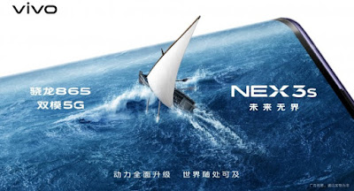 Vivo NEX 3s 5G Officially Confirmed To Be Equipped With Snapdragon 865 SoC And Triple Rear Camera