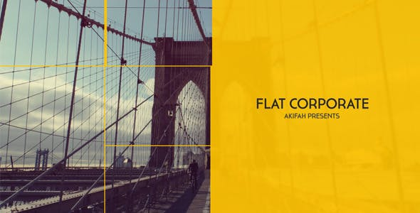 Flat Corporate | After effects |Free Download