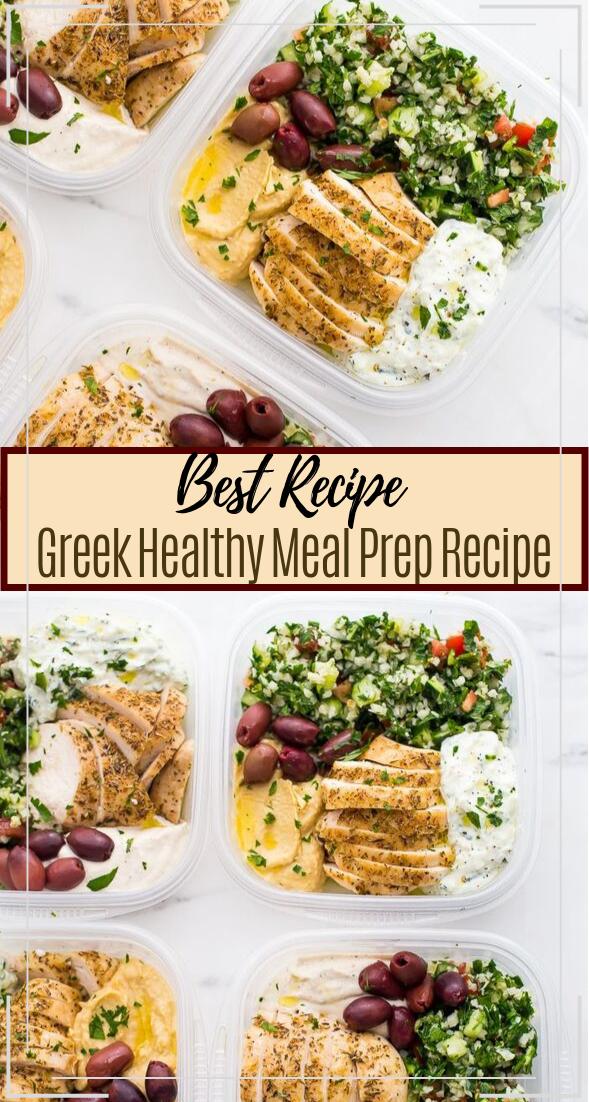 Greek Healthy Meal Prep Recipe #healthyfood #dietketo #breakfast #food