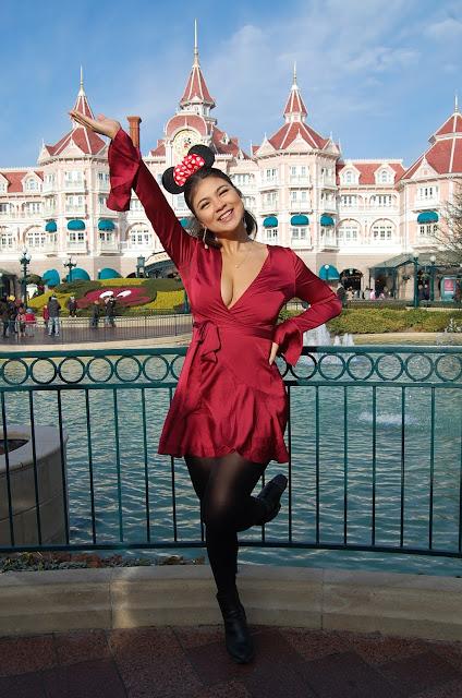 kelly fountain, Disneyland paris, sleeping beauty castle, fashion