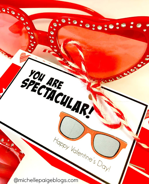 Printable Spectacular Valentine Printable @michellepaigeblogs.com
