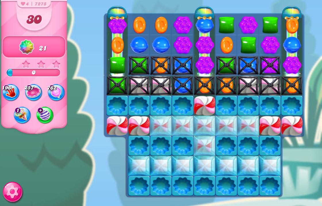 Candy Crush Saga level 7275
