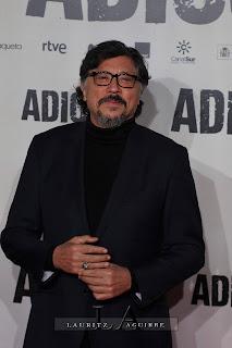 Carlos Bardem, en la Premiere de Adiós