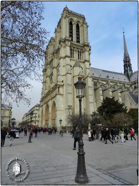 PARIS (75) - Cathédrale Notre-Dame (Portfolio des 800 ans du monument - Extérieur)