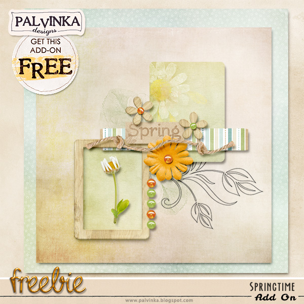 Springtime Collection and Add On Freebie
