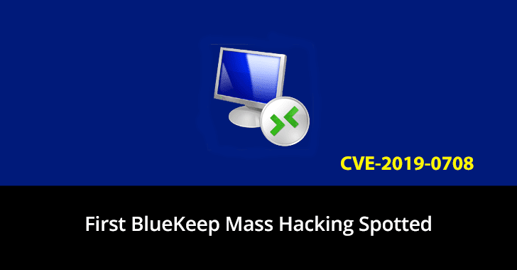 mass cyberattack Bluekeep