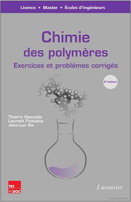 Télécharger Livre Gratuit Exercices et problèmes corrigés - Chimie des polymères pdf