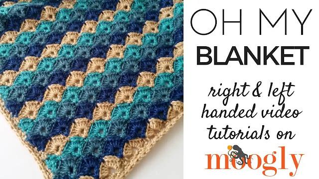 Manta Oh My Blanket a Crochet