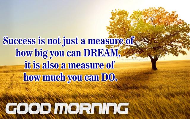 Success Good Morning