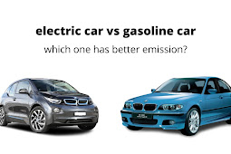 Electric car vs gasoline car which one has better emission?