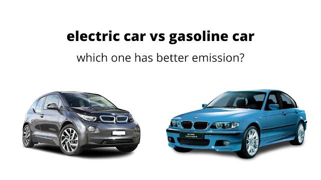 electric car vs gasoline car