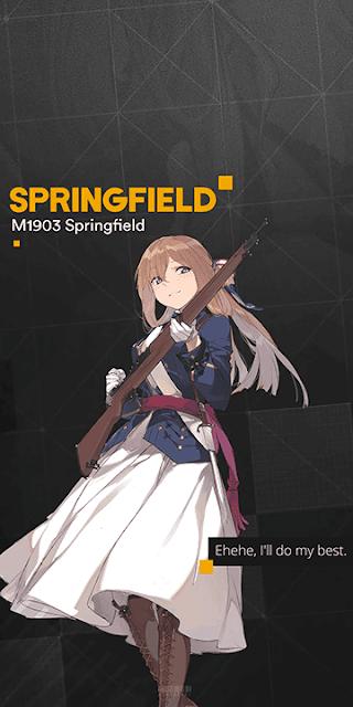 Springfield - Girls Frontline Wallpaper