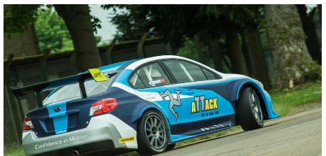 Modified Subaru WRX STI smashes Isle of Man TT car lap record