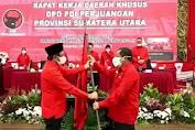 Mantan Bupati Samosir Rapidin Simbolon Resmi Jabat Ketua PDIP Sumut