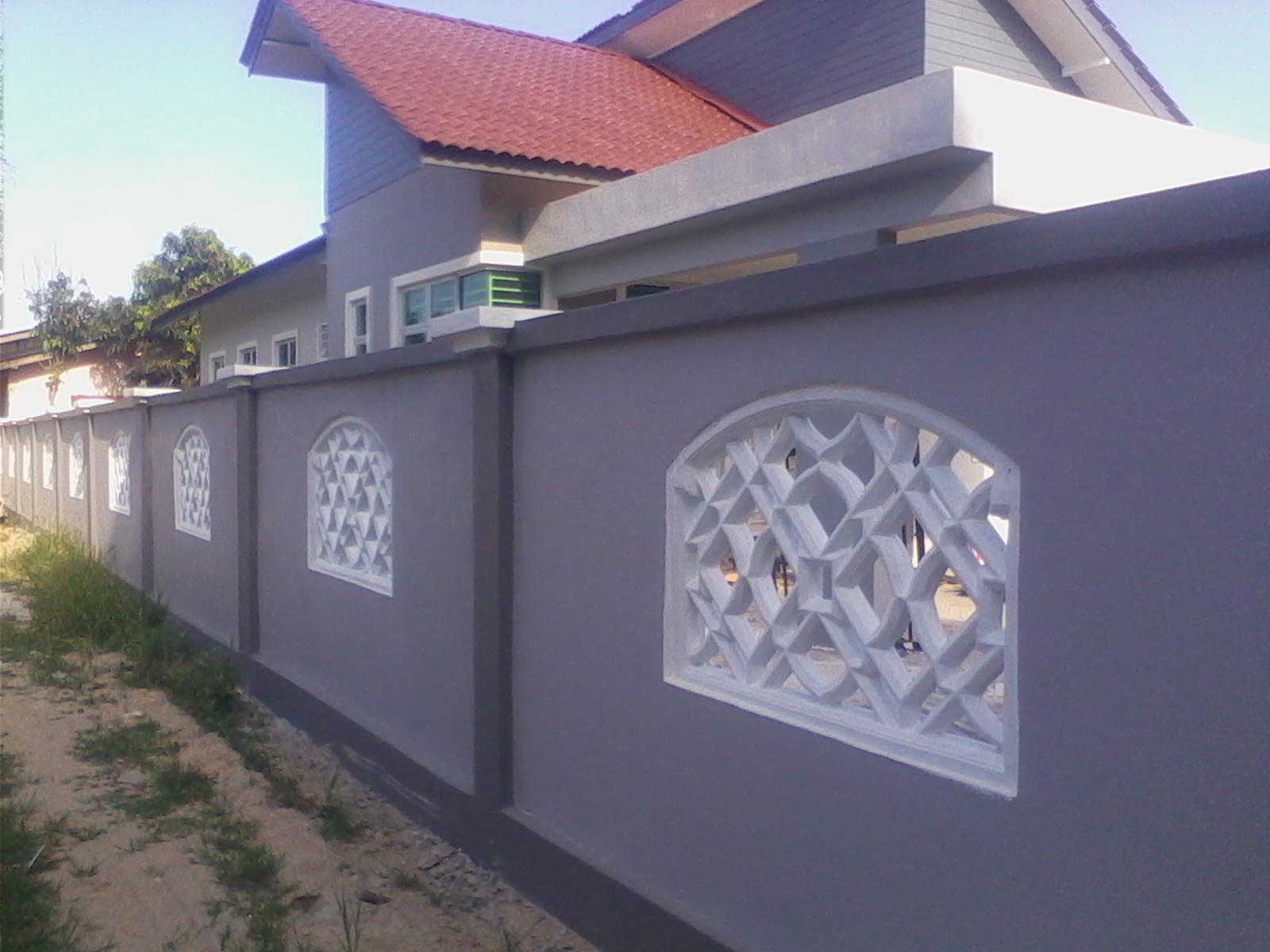 Pelbagai Rekabentuk Pembinaan Pagar Rumah