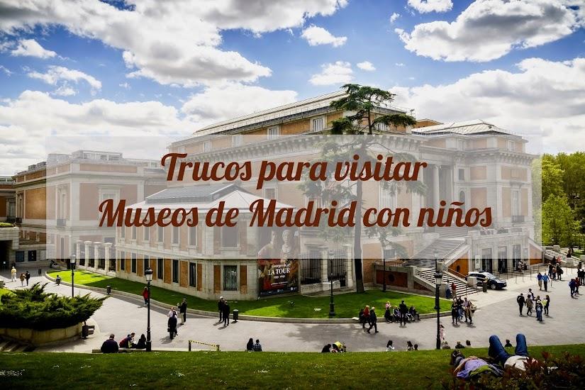 Trucos para visitar museos de Madrid con niños