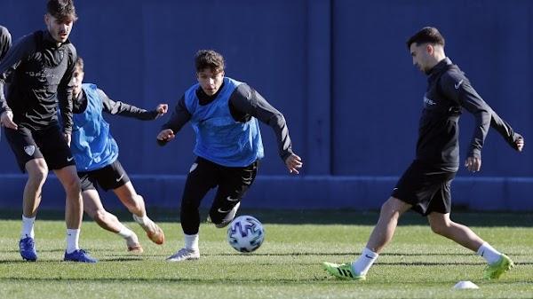 Málaga, entrenamiento hoy con 24 efectivos