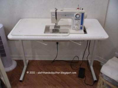 A LeftHanded Quilter Mother's Day Present Extraordinary Brother Sewing Machine Table