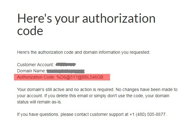 email authorization code
