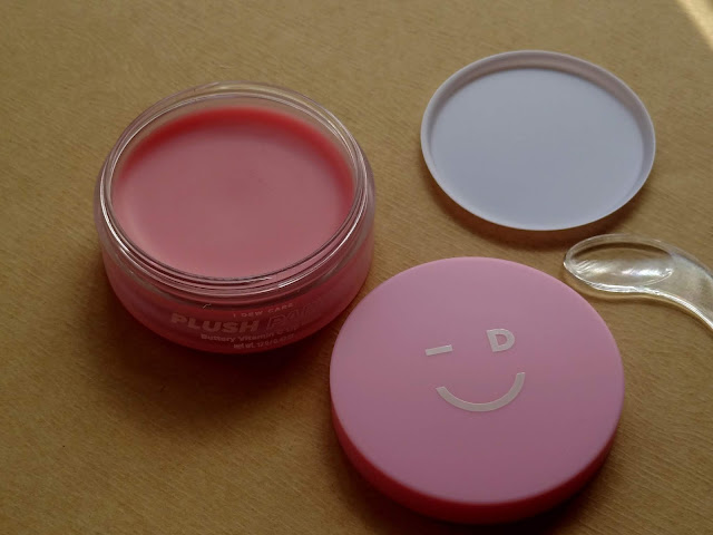 I Dew Care Plush Party Buttery Vitamin C Lip Mask Review, Photos