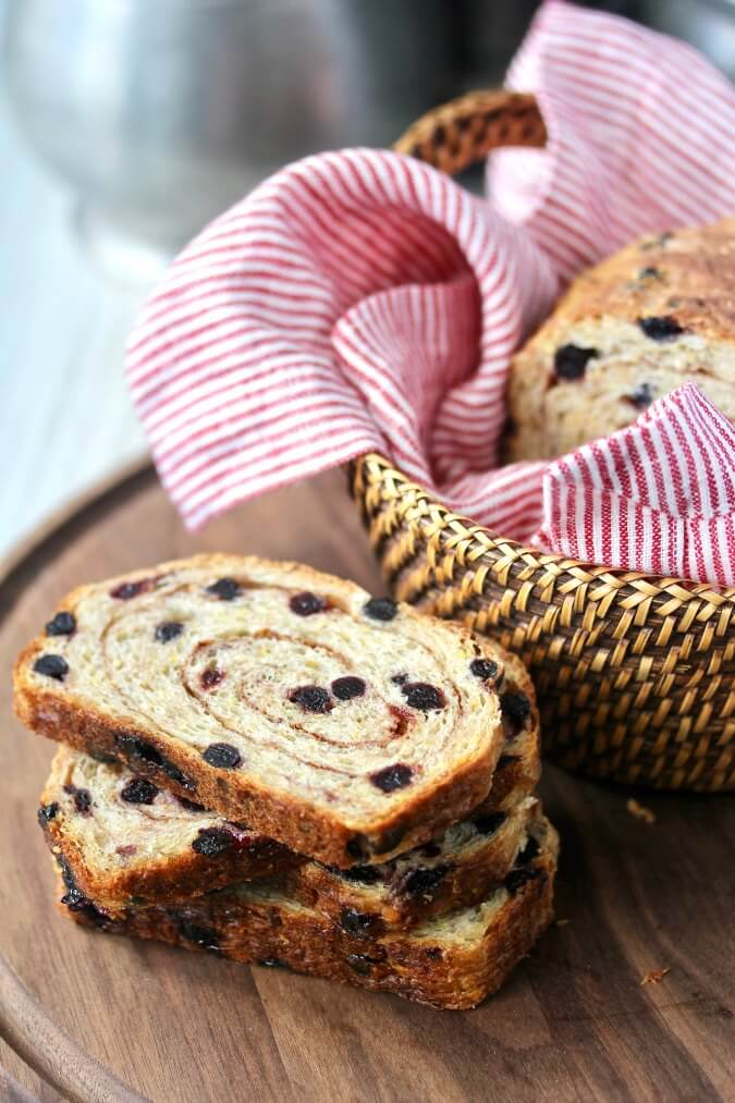 Blueberry Multigrain Bread