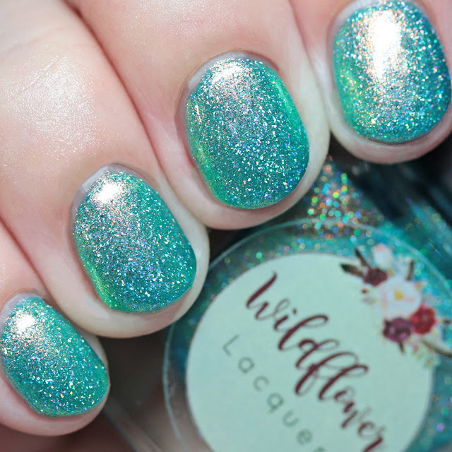 Wildflower Lacquer With Brave Wings She Flies