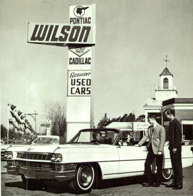 Annualmobiles: Wilson Pontiac Cadillac GMC