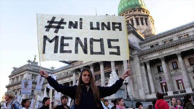 Paro nacional en Argentina contra violencia de género
