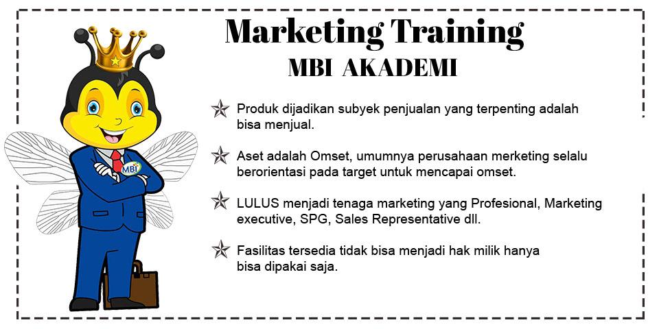 Marketing Training MBI Akademi