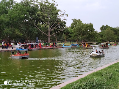 Boating Club at India Gate