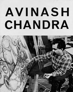 Avinash Chandra Painting   Exhibited with Francis J. Quirk