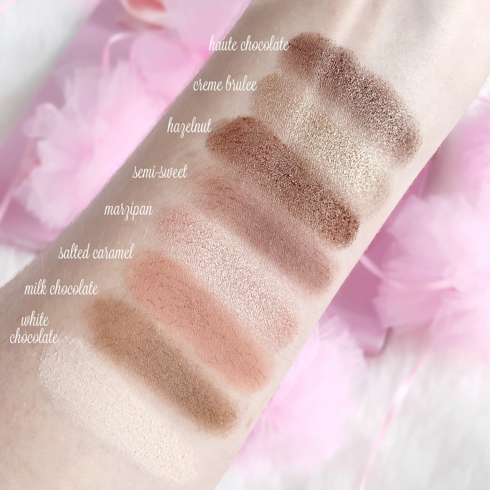 Too Faced Chocolate Bar Palette Swatches | Is It Worth The Hype?