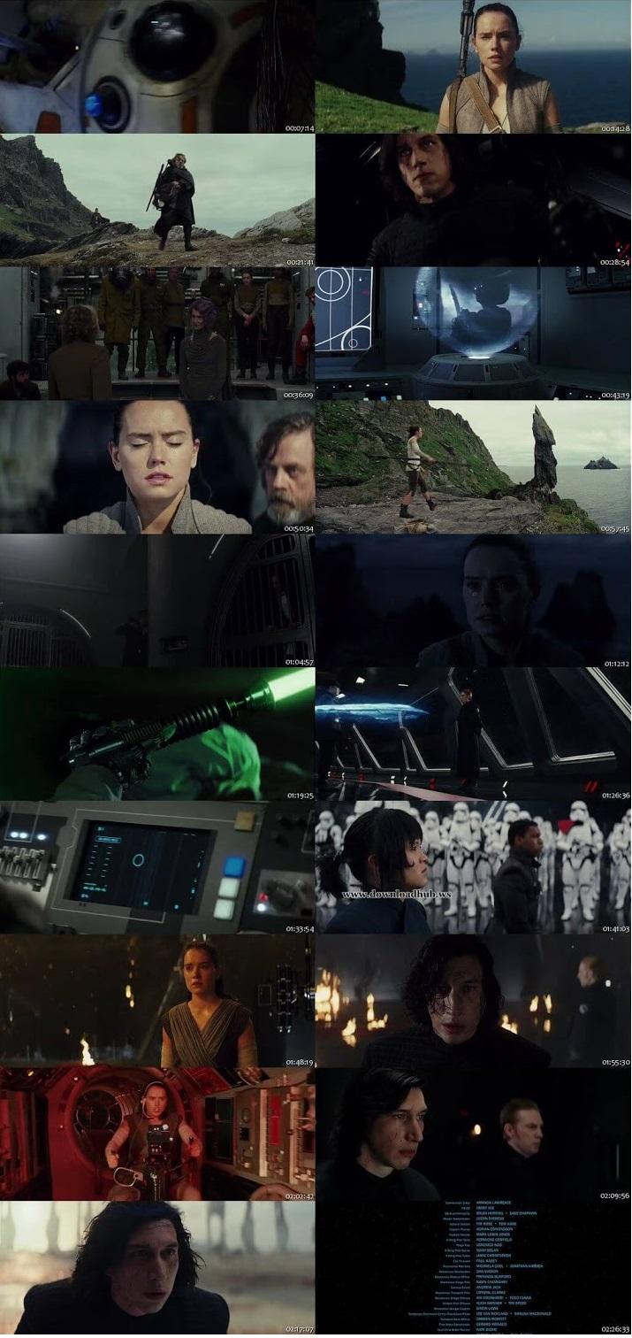 Star Wars The Last Jedi 2017 Hindi ORG Dual Audio 220MB