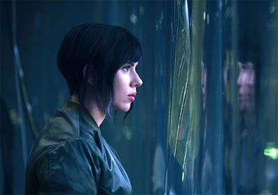"Scarlett Johansson en ""Ghost in the Shell"""