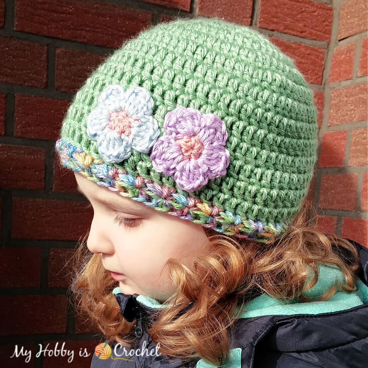 Touch of Spring Hat Free Crochet Pattern