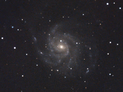M101, galàxia a l'Ossa Major - 27 i 29/07/2021