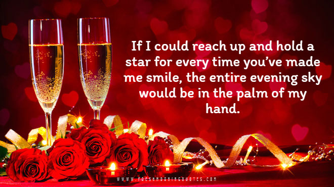 if i could reach up and hold a star for every time