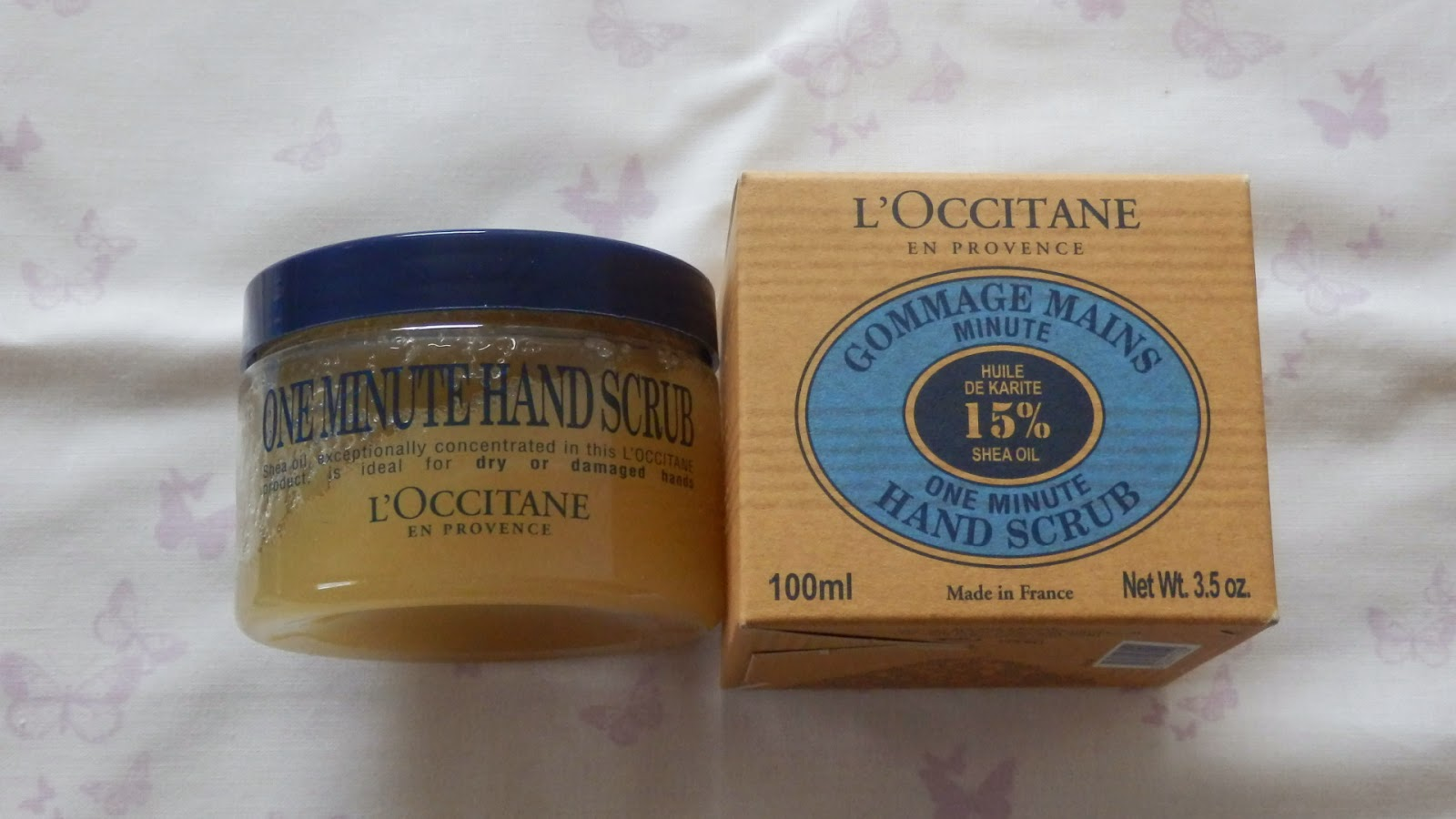 L'Occitane Instyle Shopping Event Haul One Minute Hand Scrub