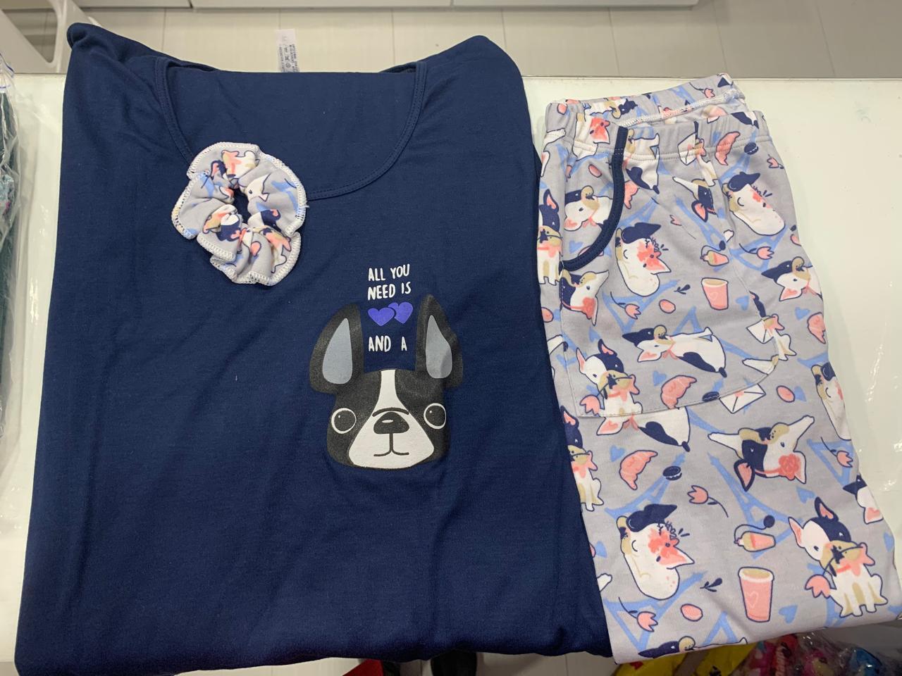 Pijama para dama manga larga  en Bogota