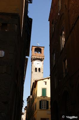 La Torre delle Ore o Torre Civica di Lucca