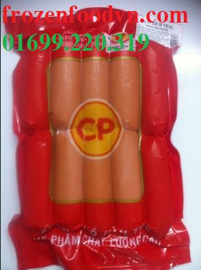 Đại lý cung cấp xúc xích Đức Việt, xích xích CP