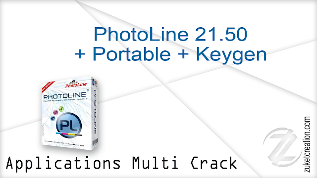 PhotoLine 21.50 + Portable + Keygen   |  57 MB