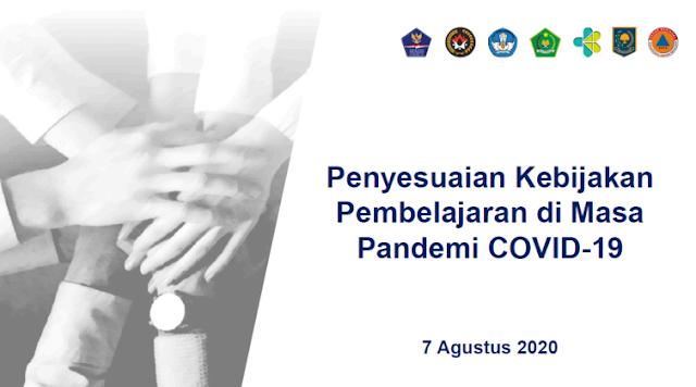 SKB Empat Menteri tentang Peyesuaian Kebijakan Pembelajaran di Masa Pandemi COVID-19