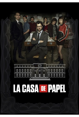 Money Heist NETFLIX Casa di Papel  season1 eps 1-13