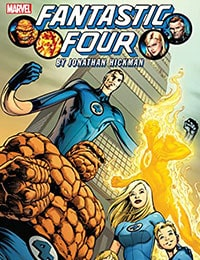 Fantastic Four by Jonathan Hickman: The Complete Collection